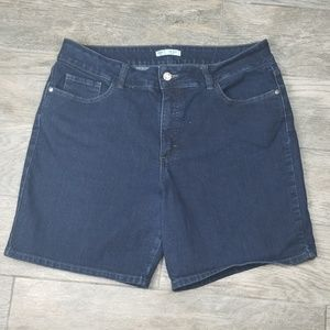 Riders by Lee denim shorts pockets front and back